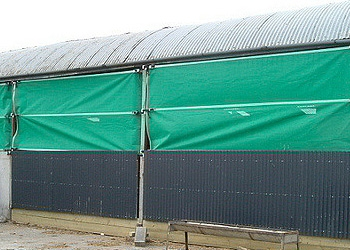 Hay Shed Wind Blocker