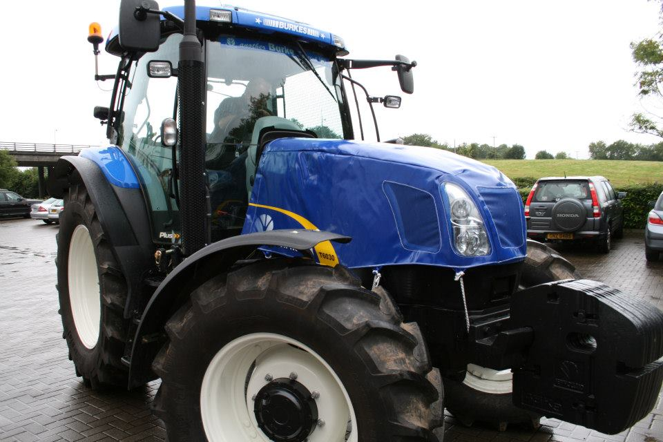 Get a quote for a tractor bonnet cover